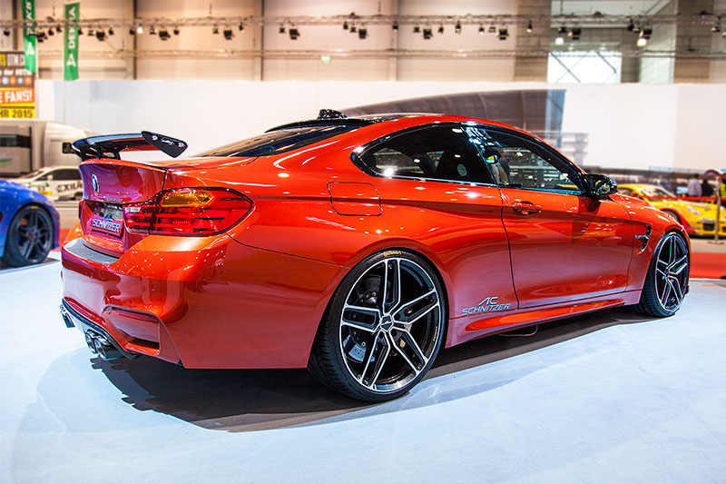 Roof Spoiler For Bmw M4 Coup F82
